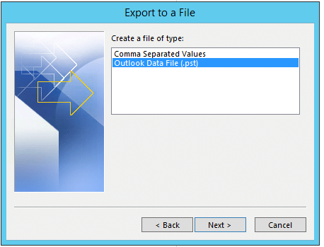 Export-To-PST