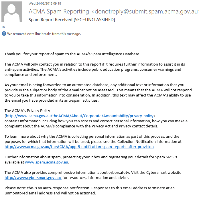 Submit-Spam-ACMA