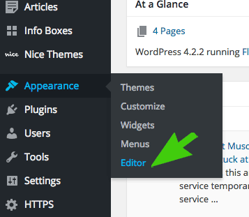 Wordpress-Theme-Editor