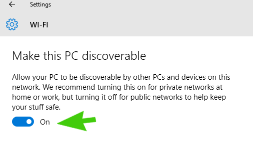 Make-This-PC-Discoverable